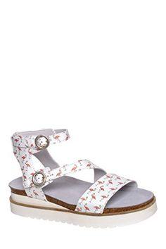 eec2a540c7dd5 Flamingo Mid Platform Ankle Strap Sandal
