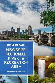 Over the next few weeks, we'll be showcasing some of our favorite trails, biking routes, museums, and iconic photo ops throughout the Mississippi National River and Recreation Area in Minneapolis, Minnesota Badlands National Park, National Parks, National Park Passport, Passport Stamps, Local Parks, Minneapolis Minnesota, Park Service, Best Hikes, Biking