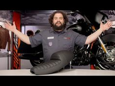 ▶ Burly Cafe Solo Seat Tail Section Review at RevZilla.com - YouTube