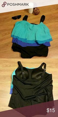 Avenue  Bathing Suit 3 layer with adjustable straps Avenue Swim One Pieces