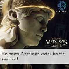 Medusa, Escape Room, Greek, Statue, Movies, Movie Posters, New Adventures, Greece, Jellyfish