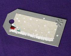 homemade christmas tags | Handmade Christmas Gift Tags