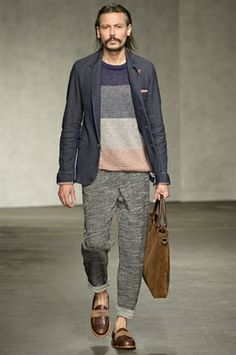 546ae1fa04d LC M Oliver Spencer SS15 Men s Fashion Brands