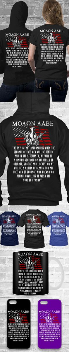 Molon Labe 2 Shirts ! Click The Image To Buy It Now or Tag Someone You Want To Buy This For. #secondamendment