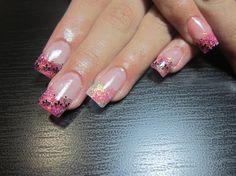 Pretty in Pink 2 by urbanangel - Nail Art Gallery nailartgallery.nailsmag.com by Nails Magazine www.nailsmag.com #nailart