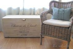 Chalk Painted Wood Box