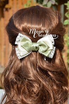 Arcos del pelo pinzas de pelo arcos de la chica por MagaroCreations