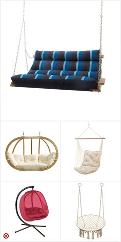 Shop Target for swin Interior Design Living Room Warm, Swinging Chair, Hammock Chair, Interior Exterior, Modern Interior, Modern Decor, Aesthetic Bedroom, Chairs Online, Cozy Room