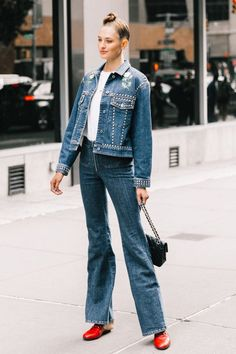 jean jacket outfits for spring