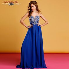Find More Evening Dresses Information about Isabel In Stock Royal Blue Long Beading Evening Dress Party Elegant Vestido De Festa Longo Cheap Prom Dresses Fast Shipping 2015,High Quality Evening Dresses from Isabel_Ye *^_^* on Aliexpress.com