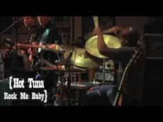 """▶ Hot Tuna - """"Rock Me Baby"""" featuring Barry Mitterhoff [Live at Jorma Kaukonen's Fur Peace Ranch  [Hot Tuna is an American blues rock band formed by bassist Jack Casady and guitarist Jorma Kaukonen as a spin-off of Jefferson Airplane. It plays acoustic and electric versions of original and traditional blues songs.] `j"""