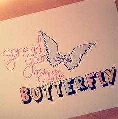 "Little Mix ""Wings"" lyrics drawing. €4.00, via Etsy."