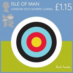 Sir Paul Smith designs Isle of Man Olympic stamps
