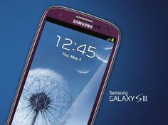 Purple Samsung Galaxy S3 Spotted