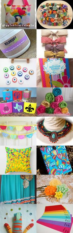 Bright and Cheery by Amy Roe on Etsy--Pinned with TreasuryPin.com