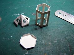 II Échelle 1//12 vide de Noël de l/'Avent Calendrier dollshouse Miniature Display