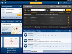 NRE App - Live Departure Board