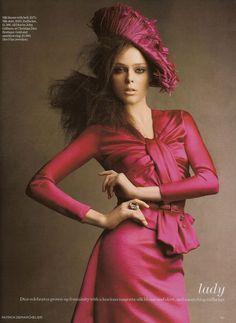 Vogue Mexico September 2007 | Coco Rocha | Patrick Demarchelier