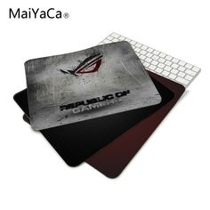 Rug anti-slip mouse diy design republic asus rog gamer pc large gaming laptop mouse pad black paint rubber mouse pad Price: 8.99 & FREE Shipping Asus Rog, Diy Design, Laptop, Gaming, Free Shipping, Black, Shop, Photos, Products