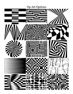 See 8 Best Images of Op Art Worksheets Printable. How to Step by Step Op Art Worksheet Op Art Lesson Worksheet Op Art Worksheets Op Art Worksheets Op Art Lesson Drawing Illusion Kunst, Illusion Drawings, Illusion Art, Op Art Lessons, Opt Art, Art Cube, Art Worksheets, Zentangle Patterns, Doodle Patterns