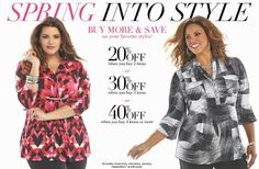 Spring into Style - Buy more and save more on your favorite style at #Avenue.