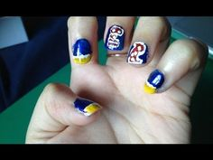 Red Bull Quick & Easy Nails and Nail Design Art Tutorial 2013 - http://www.nailtech6.com/red-bull-quick-easy-nails-and-nail-design-art-tutorial-2013/
