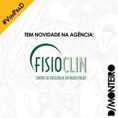Mais um anúncio super especial! A FISIOCLIN - CLÍNICA DE FISIOTERAPIA DE ANÁPOLIS também é cliente #DMONTEIRO! #BemVindos #Welcome