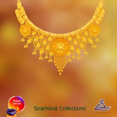 Get finest Kerala jewellery collections of unique style fashionable and traditional designs at your nearest #LalithaaJewellery showroom for this Diwali.
