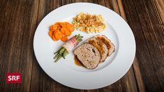 Hauptspeise von Vreni Hüberli. Baked Potato, Potatoes, Eggs, Baking, Breakfast, Ethnic Recipes, Food, Dough Bowl, Ground Meat