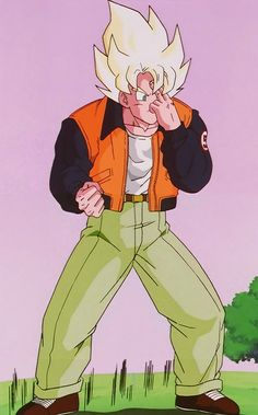 Goku will also come with me, this is what hes wearing. Hes the foreign trade advisor, trainer and one of our strongeat fighters Goku Pics, Goku Manga, Orange Jacket, Old Anime, Super Saiyan, Goku Super, Face Off, Son Goku, Dbz