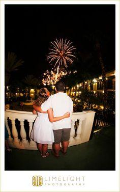 Sirata Beach Resort, Wedding Photography, Beach Wedding, Bride and Groom, Tropical Wedding, Fireworks, Limelight Photography, www.stepintothelimelight.com