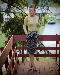 Workin' the animal skirt - Work it Blog