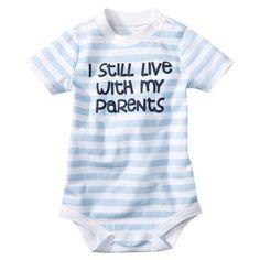 $4.50  Circo® Newborn Boys' Short-Sleeve Bodysuit - Bay
