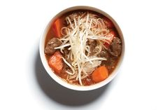 Bo Sot Vang (Beef shank and carrots braised in red wine) - Rich, tender chunks…