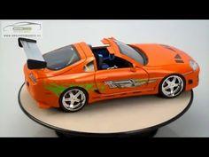TOYOTA SUPRA BRIAN'S Fast & Furious 1 Jada 1/18