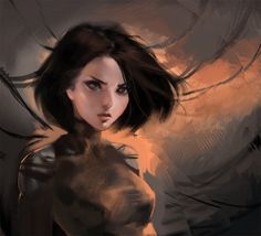 Battle angel Alita by sakimichan - yue - CGHUB via PinCG.com