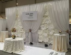 DIY Paper Flower Backdrop White paper by DreamEventsinPaper