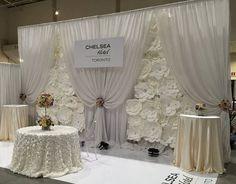 DIY Paper Flower Backdrop White  Paper by DreamEventsinPaper