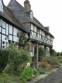 Mill Bank Cottages, Tewkesbury, England
