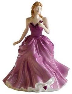 Royal Doulton Fine China Lady Figurine Victoria.