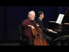 Maria Theresia von Paradis. Sicilienne Lynn Harrell, Cello & Victor Asuncion, Piano. Live at the Eli and Edythe Broad Stage, Santa Monica California. Saturday, October 9, 2010