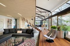 A 1960s Melbourne Warehouse Is Upcycled and Transformed Into an Energy-Efficient Family Home - Dwell