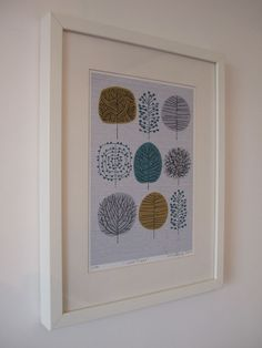 I Love Trees limited edition giclee print by EloiseRenouf on Etsy, $25.00