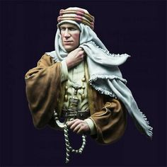 Andrea Miniatures: Bust Collection - T. Colorful Pictures, Old Pictures, Lawrence Of Arabia, Military Figures, Good Old Times, Sports Uniforms, Laurence, Toy Soldiers, Full Figured