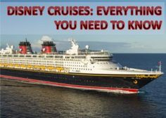 It's everything you need to know about #Disney #Cruises:  #familytravel