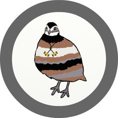 WOOD BADGE BOBWHITE VOTIVE  WOODBADGE