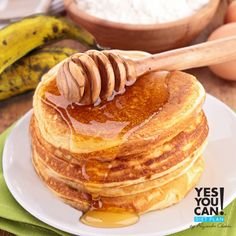 Plantain Pancakes a healthy option for your Yes You Can! Diet Plan breakfast
