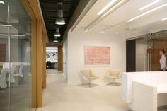 CR Lounge chairs from Davis Furniture in the Piper Jaffray offices - designed by Fusion Design Consultants