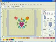 ▶ Your First Creative DRAWings® Digitized EmbroideryDesign - YouTube