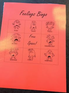 Ms. Sepp's Counselor Corner: Feelings Bingo!
